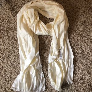 Max Studio Cream Scarf